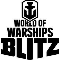 World Of Warships Blitz Logo Warship Poster Template Vector Logo