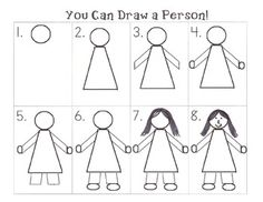 Step by Step How to Draw a Person