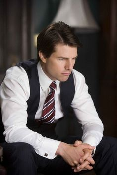 Man... you're so hot as a politician... Tom Cruise