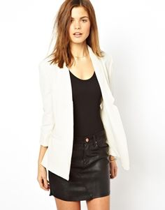 WhiteFrench Connection Drape Blazer