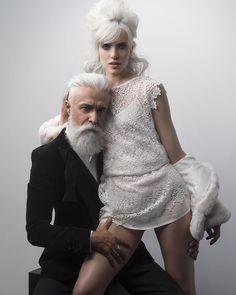 Collection Automne - Hiver 2015 Thierry Lothmann #beard #model #modelmale #beardlove #gentleman #alessandromanfredini #grey #coiffure #thierrylothmann