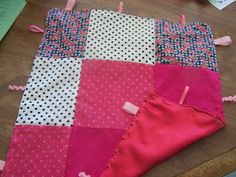 A to Z for Moms Like Me: Baby fidget blankets