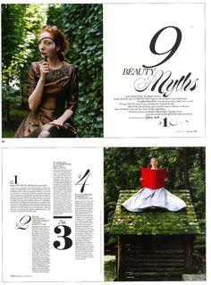 Editorial Design: More Magazine 10/09 | Photographer Rodney Smith