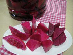 Maryam's Culinary Wonders: 274. Iraqi Turnip Beetroot Pickles