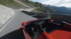 Driving on Stelvio Pass. Source: Top Gear