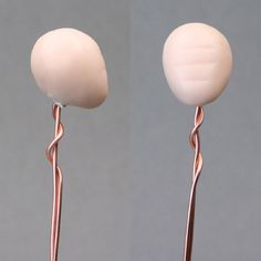 tutorials manga dolls | ... ball of polymer clay on wire armature for sculpting a doll's head