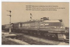Union Pacific Railroad Train Streamliner by ThePostcardDepot, $5.00