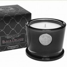 Aquiesse Luxury 5oz Scented Candle - Black Orchid