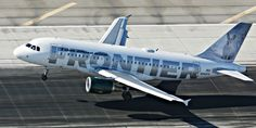Frontier Airlines Airbus A319-111 N940FR 'Jack the rabbit'