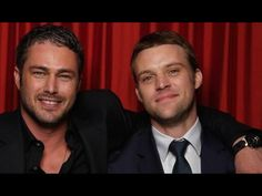 Chicago Fire- Taylor Kinney and Jesse spencer