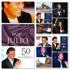 50 Anniversary, World, Music, Movie Posters, Movies, Julio Iglesias, Musica, Musik, Films