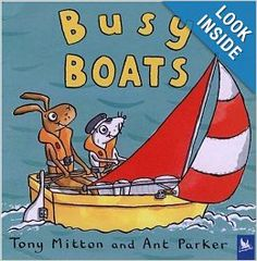 Busy Boats (Amazing Machines): Tony Mitton, Ant Parker: 9780753459164: Amazon.com: Books
