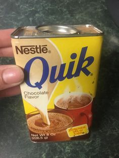 Back when Nestle Quik came in this container