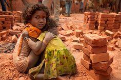 slavery - Kiln Children, Nepal by Lisa Kristine