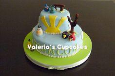 Valeria´s Cupcakes: Angry Birds para Franco!