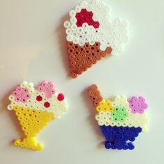 Ice cream hama beads by madzvin