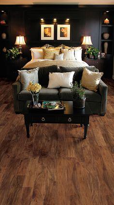 Casabella Hardwood Handscraped Asian Walnut Champagne flooring
