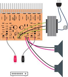 Amplificador de 400W Compl (1).pdf· Amplificador de 400W Complementario 1 ... (100w por canal). ...… Hifi Amplifier, Audio Amplifier, Electronic Circuit, Soldiers, Earth