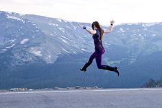 Girl leaping | Flickr - Photo Sharing!