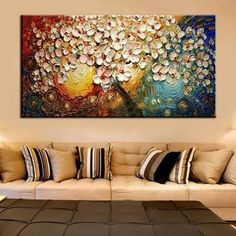 bellos dibujos de flores pintados por niños - Google Search