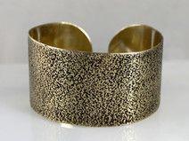 Sand - brass bracelet