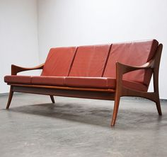 Anonymous; Teak Sofa by de Ster Gelderland, 1960s.