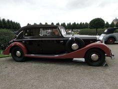 MAYBACH SW38 Spohn Cabriolet 1937 Classic Gala de Schwetzingen 2009 3