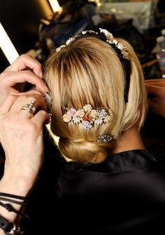 D&G. Les tendances coiffures des défilés automne-hiver 2012 -2013