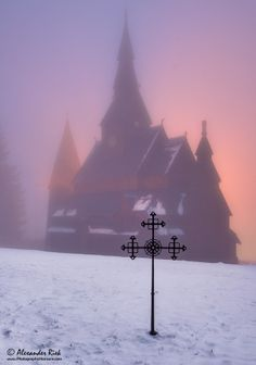 Wooden church (Harz mountains, Germany)