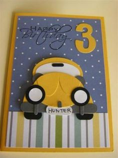 Herbie—VW Bug Birthday