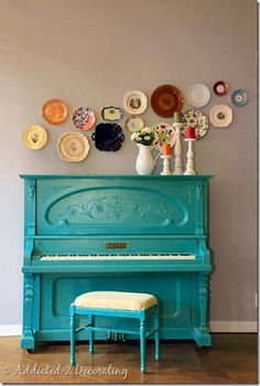 LUV DECOR: #8 OUR DREAMS CAN BE... TURQUOISE!!!