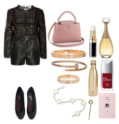 """Без названия #1317"" by txmila on Polyvore featuring мода, RED Valentino, Calvin Klein Jeans, Chanel, Christian Dior, Repossi, S'well и Monsoon"
