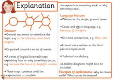 How to write an excellent Explanation Text