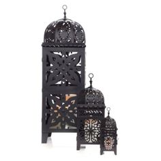 Casablanca Lanterns - Black from Z Gallerie