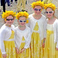 Daffy Girls, Daffodil Festival
