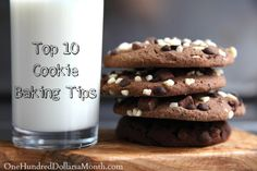 """It's no secret that I LOVE baking cookies and on any given week bake 4-6 dozen cookies. I bake breakfast cookies {yes, there is such a thing},biscotti,all the way to delicious double chocolate brownie cookies{they had me at """"double""""}. I probably..."""