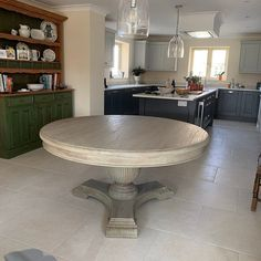 Country Kitchen Tables, Round Pedestal Dining Table, White Cedar, Close To Home, Small Furniture, New Homes, Brown, Wood, Amazing