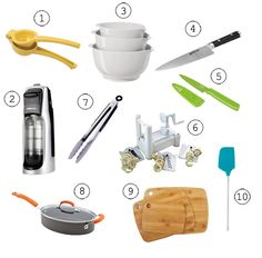 Check out The Creative Mama's 10 favorite kitchen tools including Core Bamboo cutting boards