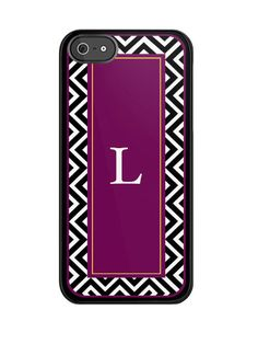 Personalized iPhone 4/4S or 5 Case  Chevron by LauraCLeBlanc, $45.00