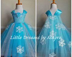 Prinses Anna geïnspireerde jurk met cape en door LittledreamsbyMayra