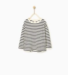 ZARA - KIDS - Striped plush sweater