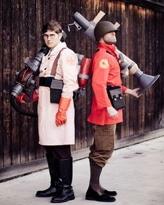 TF2 Medic and Soldier