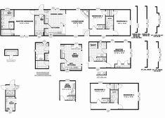 2008 Clayton Mobile Home Floor Plans