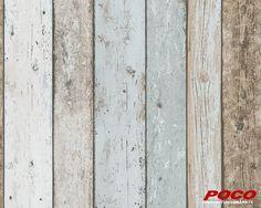 Mit Tapeten können Sie jeden Raum lebendig machen und eine persönliche Note verleihen. Ohne viel Aufwand bringt die Papiertapete in Holzoptik ein rustikales Ambiente in Ihre Wohnräume.