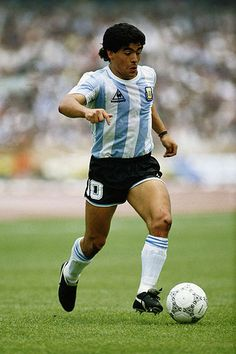 Diego Maradona: Boca Juniors, Barcelona, Napoli and Argentina One of the greatest, and most controversial, players in the history of the game. He earned 91 caps and scored 34 goals for his country and is the only player to win the Golden Ball at both the Fifa Under-20 World Cup and World Cup in 1979 and 1986. In his time at Napoli he elevated the team to the most successful era in its history. Led by Maradona, Napoli won their only Serie A titles in 1986/87 and 1989/90