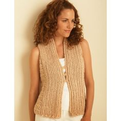 """Crochet Vest Extra-Small/Small 28 - 34"""" to 4/5 Extra-Large 56 - 62"""""""