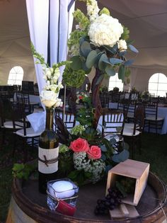 #boda #wedding #floral #arreglo #decoración #fiesta #elcielo #valle #ruta #vino #wine #ensenada #baja #mexico #bottle #botella #candle