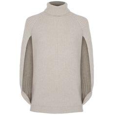 Hirshleifers - Brunello Cucinelli - Cashmere Cape Sweater (Marzipan), $1,885.00 (http://www.hirshleifers.com/ready-to-wear/tops/brunello-cucinelli-cashmere-cape-sweater-marzipan/)