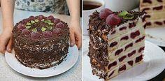 Сметанный Торт «Вишневые Соты