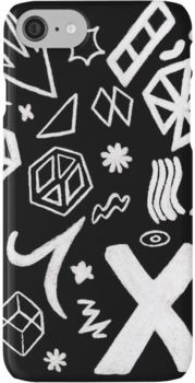 On The Road Again Tour stage pattern iPhone 7 Cases